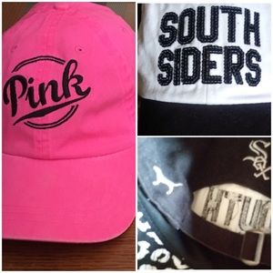 Two VS PINK hats